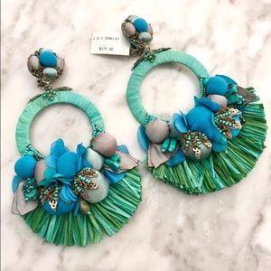 RANJANA KHAN Waverly drop earrings $395